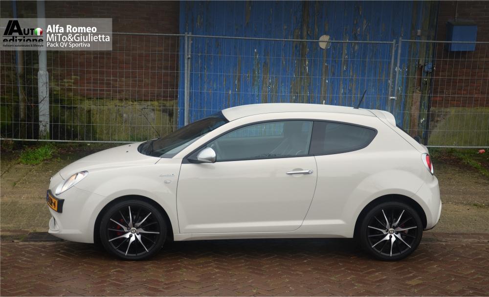 Aanrader Pack Qv Sportiva Op Alfa Romeo Mito En Giulietta