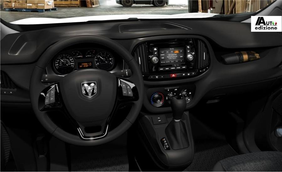 Fiat dobl in amerika van start als ram promaster city for Fiat doblo interieur