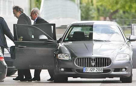 The new Maserati