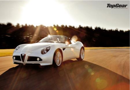 Alfa Romeo 8C Spider mooiste auto ter wereld   Auto Edizione