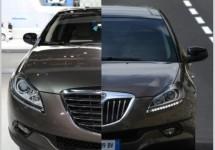 Eerste echte Lancia-Chrysler stand in Genève