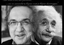 De overeenkomst tussen Sergio Marchionne en Albert Einstein