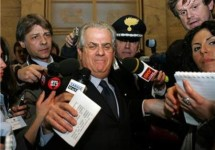 Scajola kreeg een brief van Marchionne over Termini Imerese