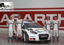 Het Abarth Rallyteam is er klaar voor