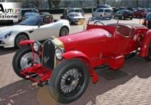 Nederlands Mille Miglia team gaat in een 8C 2300