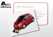 '500 Millesima': Meer dan duizend gezichten voor Fiat's tijdloze kameleon
