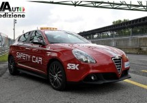Alfa Romeo Giulietta als beauty van een 'Safety Car'
