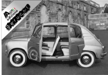 De Fiat 600 Lucciola komt terug!