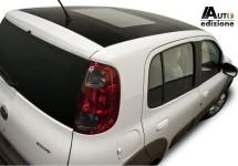 Een mooie groene Fiat Uno is wit en heet 'Ecology'