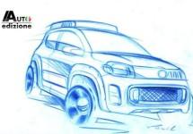 Fiat Uno ontwerpschetsen