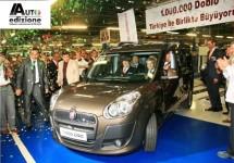 1 miljoen keer Fiat Doblò: Italiaanse auto, Turkse trots