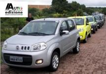 Fiat bovenaan in Brazilië de vierde markt in de wereld