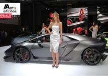 Lamborghini Sesto Elemento live in Parijs