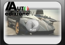 Video van de Pagani Zonda Tricolore