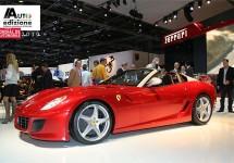 Ferrari live in Parijs