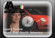 Video voor de presentatie van de Amerikaanse Fiat 500