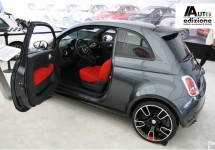 SEMA 2010: Dikke Fiat 500 van Mopar in prachtige 500 stand
