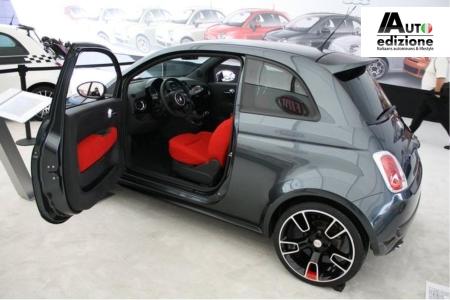 Sema 2010 Dikke Fiat 500 Van Mopar In Prachtige 500 Stand