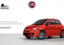 Fiat 500 Prima Edizione ook in Canada direct uitverkocht