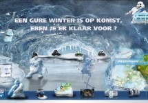 Advertentie: Michelin Winter Experience 2010