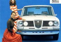 Lancia Flavia zal volledig in Italië ontwikkeld worden