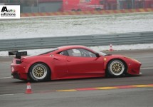 Ferrari 458 GTC klaar voor de start