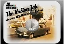 Fiat 124 Sport Coupé op het witte doek