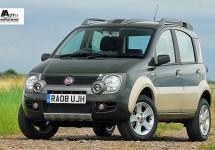 Panda Cross beste kleine off-roader van 2011 in Groot Brittannië