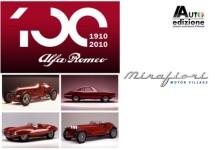 Alfa Romeo's uit Museo Storico naar Mirafiori in Turijn