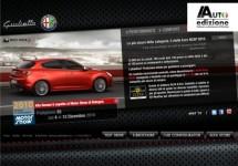 Alfa Romeo lanceert nieuwe website voor de Giulietta