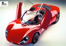 Alfa Romeo 4C is geïnspireerd op de 33 Stradale