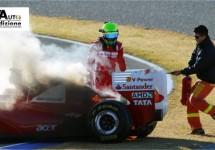 'Vlammende start' voor F150 van Massa
