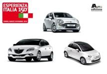 Fiat viert Italiaanse eenheid met logo op auto's