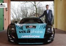 Maserati viert zoveelste wereldtitel in de villa van Pavarotti