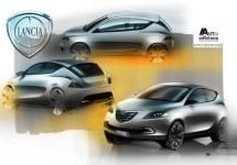 Centro Stile toont schetsen van de nieuwe Lancia Ypsilon