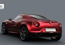 Alfa Romeo 4C fotogallery
