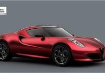 Alfa Romeo 4C zal mondiaal de toon zetten voor het merk