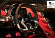 Het interieur van de Alfa Romeo 4C