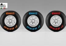 Pirelli's P-Zero F1 banden zijn lekker herkenbaar