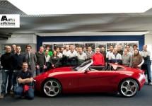 Alfa Romeo Duettottanta Pininfarina wint Design Award 2010