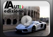 Prachtig filmpje van Lamborghini Aventador in Rome