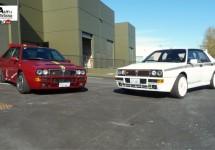 Super zeldzaam; twee speciale edities van de Lancia Delta Integrale