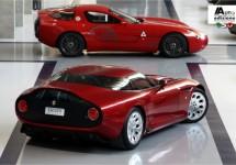 Eerste plaatjes Alfa Romeo TZ3 Stradale