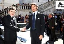 Presentatie Lamborghini Aventador LP 700-4 in Rome