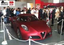 Alfa Romeo 4C live op de Mille Miglia vanuit Brescia