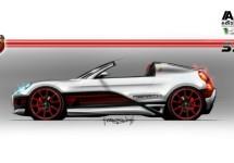 Abarth bevestigt komst van roadster/targa op basis van de 4C GTA