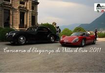 Prachtig beeldmateriaal van de Concorso d'Eleganza di Villa d'Este 2011