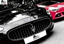 Foto-impressie Maserati GranTurismo bij stand van AutoEdizione