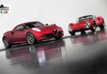 Alfa Romeo 4C op Goodwood 2011