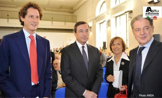 Elkann Draghi